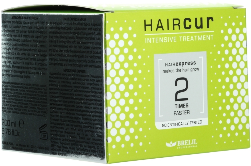 Haarmaske - Brelil Professional Hair Cur Hair Express Mask — Bild N3