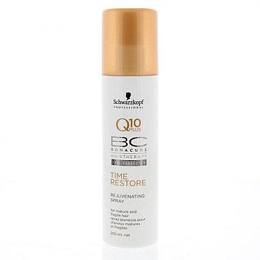 Nährendes Haarspray mit Q10 Plus für reifes und brüchiges Haar - Schwarzkopf Professional Bonacure Rejuvenating Spray Q10 Plus — Bild N1