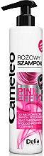 Düfte, Parfümerie und Kosmetik Rosafarbenes Shampoo für blondes, aufgehelltes Haar - Delia Cosmetics Cameleo Pink Shampoo