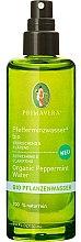 Düfte, Parfümerie und Kosmetik Erfrischendes und klärendes Bio Pfefferminzwasser für das Gesicht - Primavera Organic Water