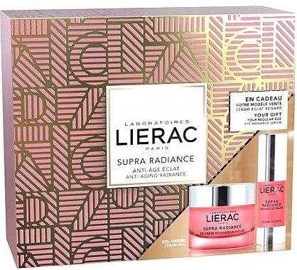 Gesichtspflegeset - Lierac Supra Radiance (Gel-Creme 50ml + Augenserum 15ml) — Bild N1