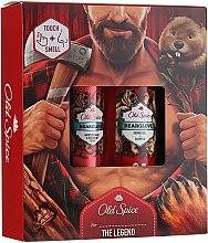 Düfte, Parfümerie und Kosmetik Körperpflegeset - Old Spice BearGlove (Deospray 150ml+Duschgel 250ml)