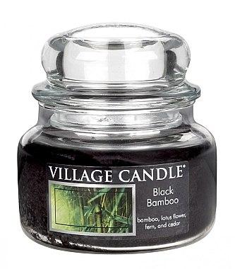 Duftkerze Black Bamboo - Village Candle Black Bamboo Glass Jar — Bild N1