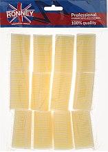 Düfte, Parfümerie und Kosmetik Klettwickler 32/63 mm gelb - Ronney Professional Velcro Roller