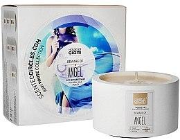 Düfte, Parfümerie und Kosmetik Soja-Duftkerze Beware of Angel - House of Glam Raw White Collection Beware of Angel Candle