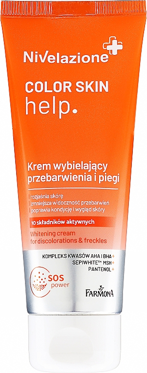 Bleichende Gesichtscreme - Farmona Nivelazione Whitening Cream — Bild N1