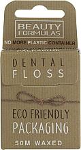 Düfte, Parfümerie und Kosmetik Ökologische gewachste Zahnseide - Beauty Formulas Eco Friendly Dental Floss
