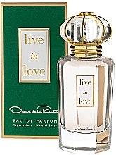 Düfte, Parfümerie und Kosmetik Oscar de la Renta Live in Love - Eau de Parfum