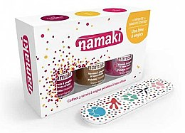 Düfte, Parfümerie und Kosmetik Nagelset - Namaki (Nagellack 7.5ml + Nagelfeile)