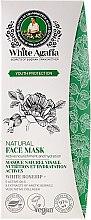 Düfte, Parfümerie und Kosmetik Nährende Gesichtsmaske mit weißer Hagebutte, 5 Ölen und Ekstrakt aus arktischen Beeren - Rezepte der Oma Agafja White Agafia Natural Face Mask