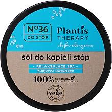 Düfte, Parfümerie und Kosmetik Entspannendes und aufweichendes Fußbadesalz mit ätherischen Ölen - Pharma CF No.36 Plantis Therapy Foot Bath Salt
