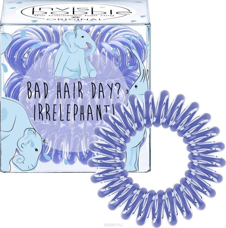 "Haargummis ""Bad Hair Day? Irrelephant!"" 3 St. - Invisibobble Bad Hair Day? Irrelephant! — Bild N2"