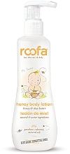 Düfte, Parfümerie und Kosmetik Körperlotion für Babys mit Honig und Sheabutter - Roofa Honey Body Lotion