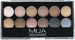 Düfte, Parfümerie und Kosmetik Lidschattenpalette - MUA Undressed Eyeshadow Palette