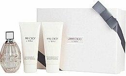 Düfte, Parfümerie und Kosmetik Jimmy Choo L'Eau - Duftset (Eau de Toilette 90ml + Körperlotion 100ml + Duschgel 100ml)