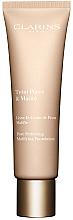 Düfte, Parfümerie und Kosmetik Mattierende Foundation zur Porenverfeinerung - Clarins Teint Pores & Matite Pore Perfecting Matifying Foundation