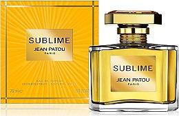 Düfte, Parfümerie und Kosmetik Jean Patou Sublime - Eau de Parfum
