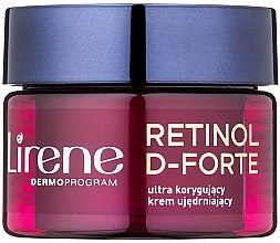 Düfte, Parfümerie und Kosmetik Korrigierende und straffende Anti-Falten Nachtcreme 50+ - Lirene Retinol D-Forte Firming Night Cream For Correction Of Wrinkles 50+