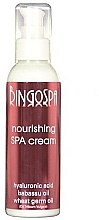 Düfte, Parfümerie und Kosmetik Pflegende Gesichtscreme mit Hyaluronsäure und Babassu- und Weizenkeimöl - BingoSpa