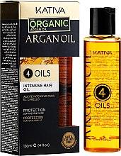 Regenerierendes Haarkonzentrat mit 4 Ölen - Kativa Argan Oil — Bild N4