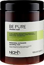 Düfte, Parfümerie und Kosmetik Pflegende Maske für trockenes und lebloses Haar - Niamh Hairconcept Be Pure Nourishing Mask