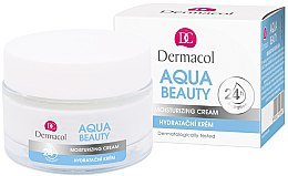 Feuchtigkeitsspendende Gesichtscreme - Dermacol Aqua Beauty Moisturizing Cream — Bild N1