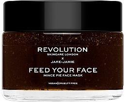 Düfte, Parfümerie und Kosmetik Feuchtigkeitsspendende Gesichtsmaske - Revolution Skincare X Jake Jamie Mince Pie Face Mask