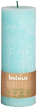 Düfte, Parfümerie und Kosmetik Stumpenkerze hellblau 190x68 mm - Bolsius