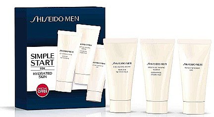 Set - Shiseido (gel/30ml + scrub/30ml + face/foam/30ml) — Bild N1