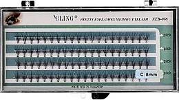 Düfte, Parfümerie und Kosmetik Wimpernbüschel-Set C-8 mm - Bling Pretty Eyelashes
