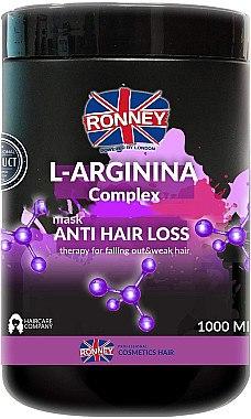 Haarmaske gegen Haarausfall mit L-Arginin - Ronney L-Arginina Complex Anti Hair Loss Therapy Mask — Bild N1