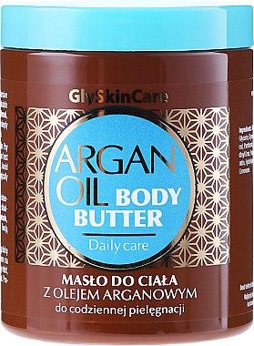 Feuchtigkeitsspendende Körperbutter mit Arganöl - GlySkinCare Argan Oil Body Butter — Bild N1