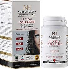 Düfte, Parfümerie und Kosmetik Nahrungsergänzungsmittel Collagen Class A für schöne und gesunde Haut, Haare und Nägel - Noble Health Kolagen Class A