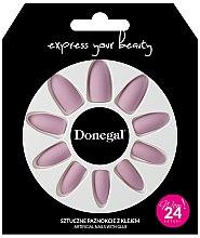Düfte, Parfümerie und Kosmetik Künstliche Nägel Set mit Kleber 3054 - Donegal Express Your Beauty