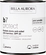 Düfte, Parfümerie und Kosmetik Klärende Gesichtscreme gegen dunkle Flecken SPF 20 - Bella Aurora B7 Cream Clarifying Blush