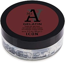 Düfte, Parfümerie und Kosmetik Modellierendes Haargel - I.C.O.N. MR. A. Gelatin Pliable Gel Wet Finish