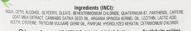 Regenerierende Haarspülung mit Ziegenmilch - Bione Cosmetics Goat Milk Hair Conditioner — Bild N3