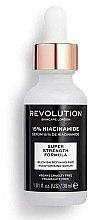 Düfte, Parfümerie und Kosmetik Feuchtigkeitsspendendes und aufhellendes Gesichtsserum mit 15% Niacinamid - Makeup Revolution Skincare Blemish Refining And Moisturising Serum 15% Niacinamide