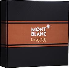 Düfte, Parfümerie und Kosmetik Montblanc Legend Night - Duftset (Eau de Parfum 50ml + After Shave Balsam 100ml)