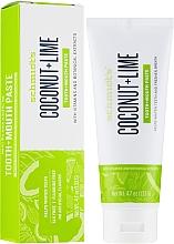 Düfte, Parfümerie und Kosmetik Erfrischende Zahnpasta mit Kokosnuss, Limette und kühler Minze - Schmidt's Coconut Lime Toothpaste