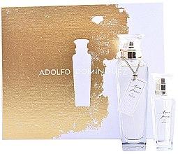 Düfte, Parfümerie und Kosmetik Adolfo Dominguez Agua Fresca de Rosas - Duftset (Eau de Toilette/120ml + Eau de Toilette/30ml)