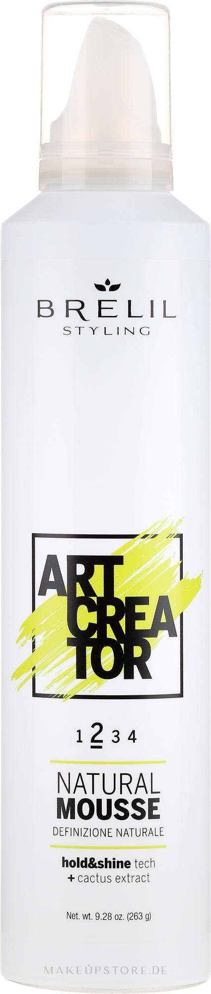 Styling-Mousse Mittlerer Halt - Brelil Art Creator Natural Mousse — Bild 300 ml