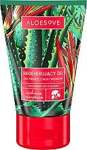 Düfte, Parfümerie und Kosmetik Regenerierendes Gel für Gesicht, Körper und Haar mit Aloe Vera-Extrakt - Aloesove Regenerating Gel