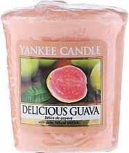 Votivkerze Delicious Guava - Yankee Candle Delicious Guava Sampler Votive — Bild N1