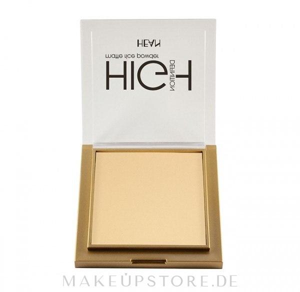 Definierender Gesichtspuder - Hean High Definition Powder — Bild 301