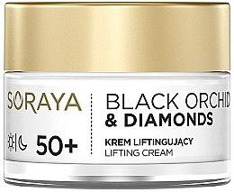 Düfte, Parfümerie und Kosmetik Gesichtscreme für Tag und Nacht mit Liftingeffekt 50+ - Soraya Black Orchid & Diamonds 50+ Lifting Cream