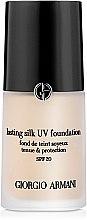Düfte, Parfümerie und Kosmetik Langanhaltende Foundation LSF 20 - Giorgio Armani Lasting Silk UV Foundation SPF20
