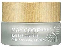 Düfte, Parfümerie und Kosmetik Lifting-Augenkonturcreme mit Ahormwasser - May Coop Eye Contour Lifting Cream