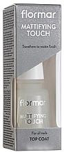 Düfte, Parfümerie und Kosmetik Mattierender Nagelüberlack - Flormar Matifying Touch