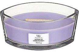 Düfte, Parfümerie und Kosmetik Duftkerze im Glas Lavender Spa - Woodwick Hearthwick Flame Ellipse Candle Lavender Spa